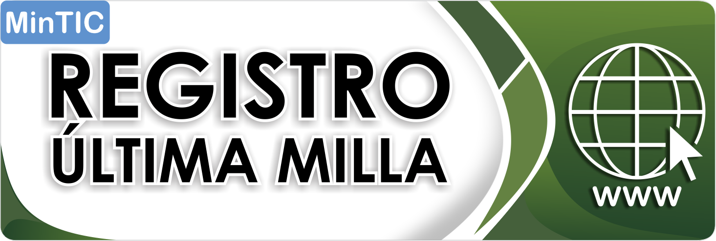 Registro Ultima Milla