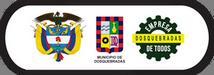 Escudos de Colombia, la Alcaldía Municipal de Dosquebradas y el logo de